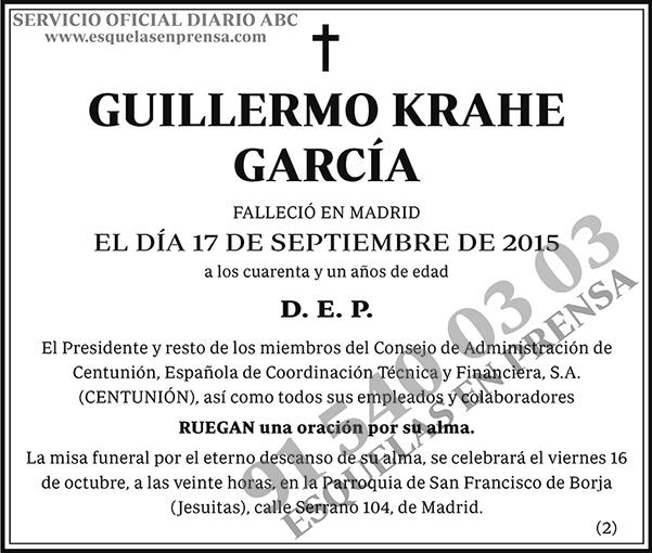 Guillermo Krahe García